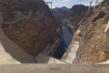 Hoover Dam, Top of Dam QTVR